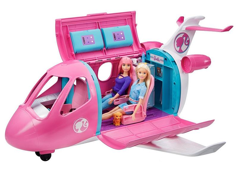 Самолет Mattel Barbie мечты GDG76