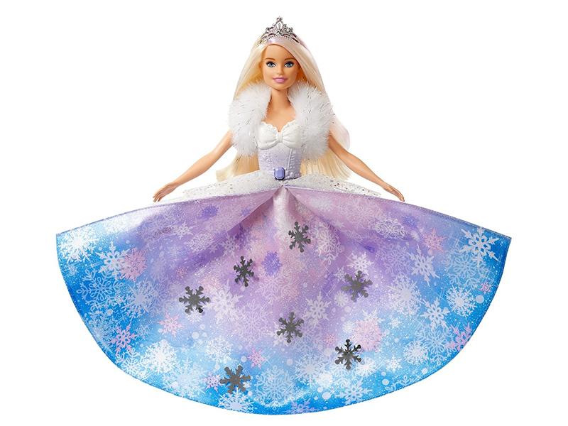 Кукла Mattel Barbie Снежная принцесса GKH26