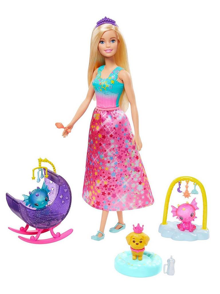 Кукла Mattel Barbie Заботливая принцесса () GJK49