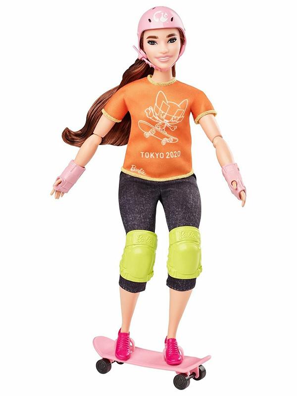 Кукла Mattel Barbie Олимпийская спортсменка () GJL73