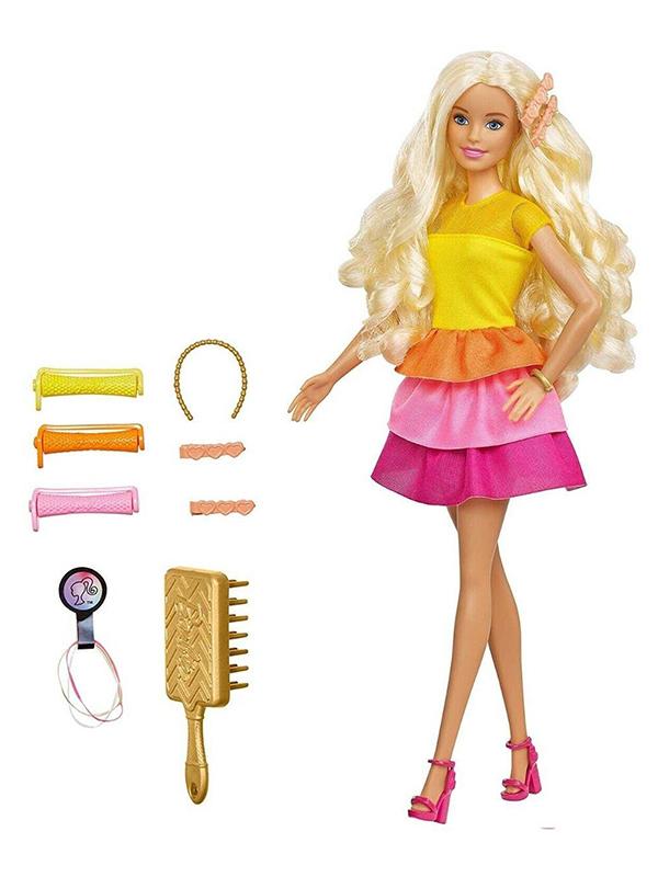 Кукла Mattel Barbie Невероятные кудряшки GBK24