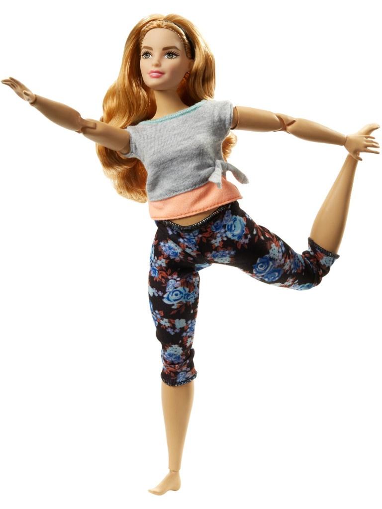Кукла Mattel Barbie Безграничные движения 3 FTG84