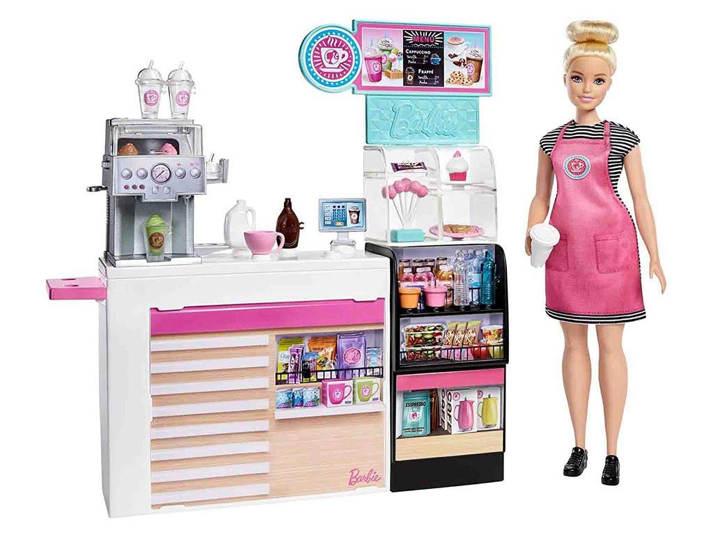 Кукла Mattel Barbie Кофейня GMW03