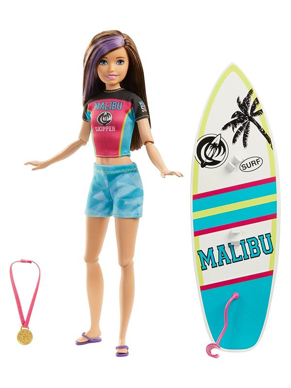 Кукла Mattel Barbie Спортивные сестренки () GHK34