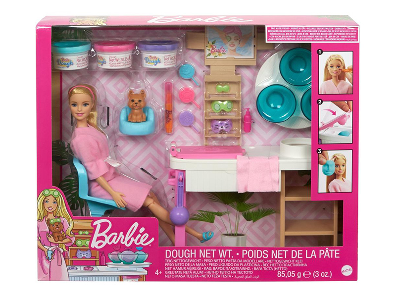 Кукла Mattel Barbie СПА GJR84 кукла mattel barbie кен жених dvp39