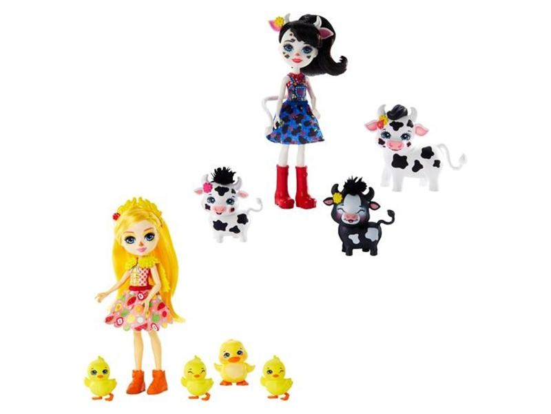 Кукла Mattel Enchantimals с зверушками () GJX43