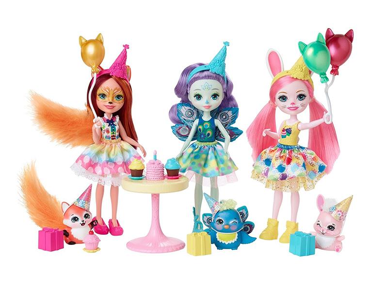 Кукла Mattel Enchantimals День рождения GJX22