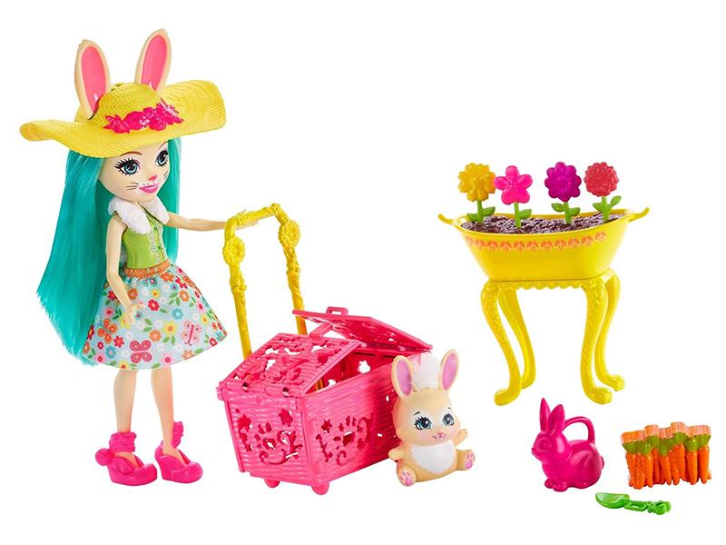 Кукла Mattel Enchantimals Бри Кроля в саду GJX32