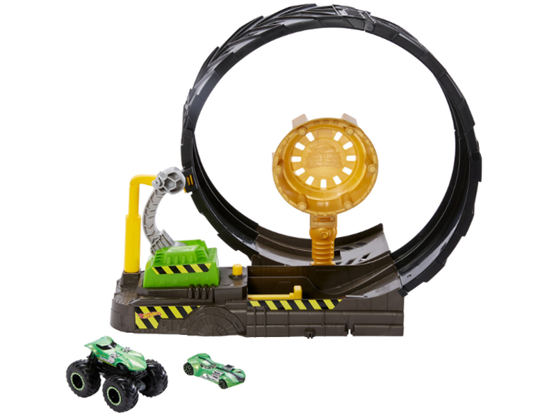 Автотрек Mattel Hot Wheels Монстр-Трак игровой набор Мертвая Петля GKY00