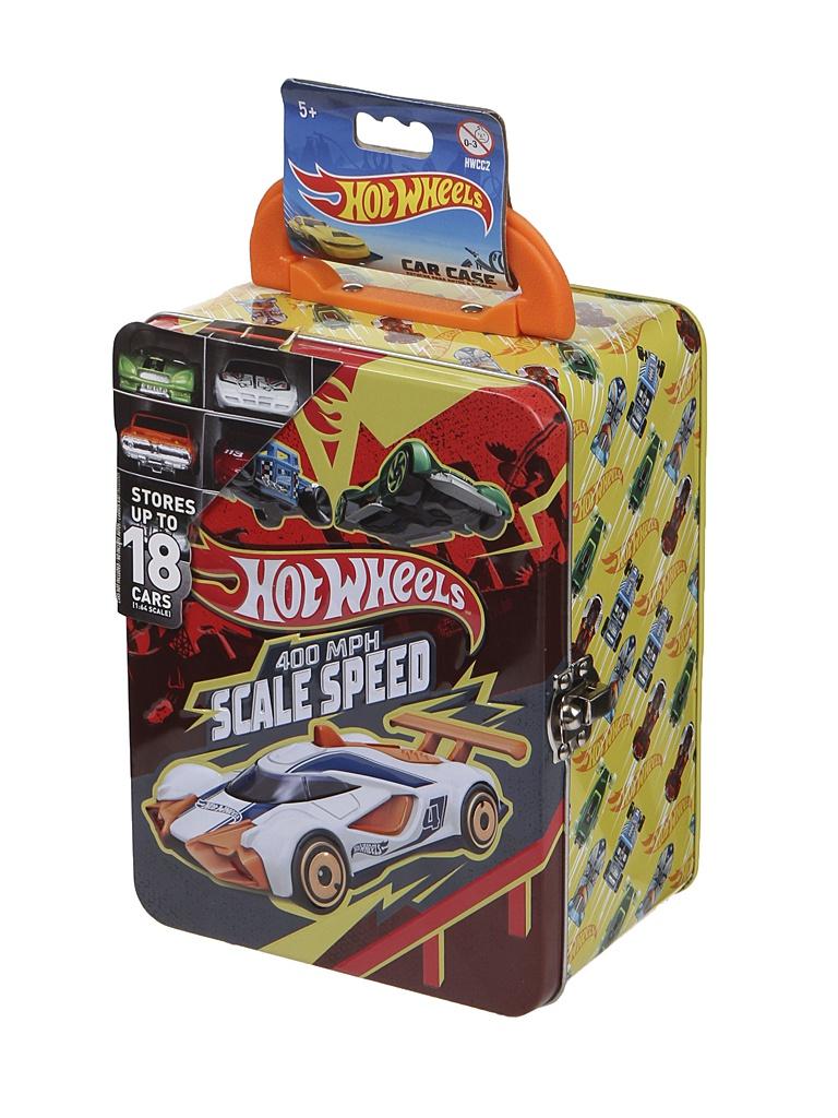 Игрушка Mattel Портативный кейс для машинок Hot Wheels HWCC2RO