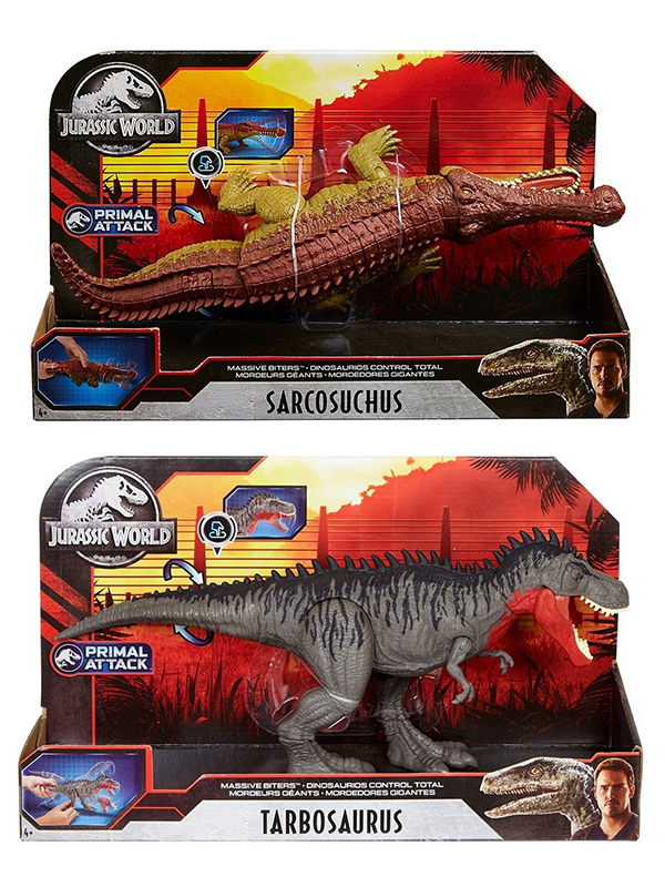Mattel Jurrasic World Total Control () GJP32