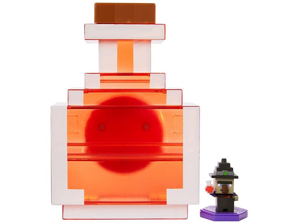Mattel Minecraft Переносной кейс для фигурок Зелье GKT45