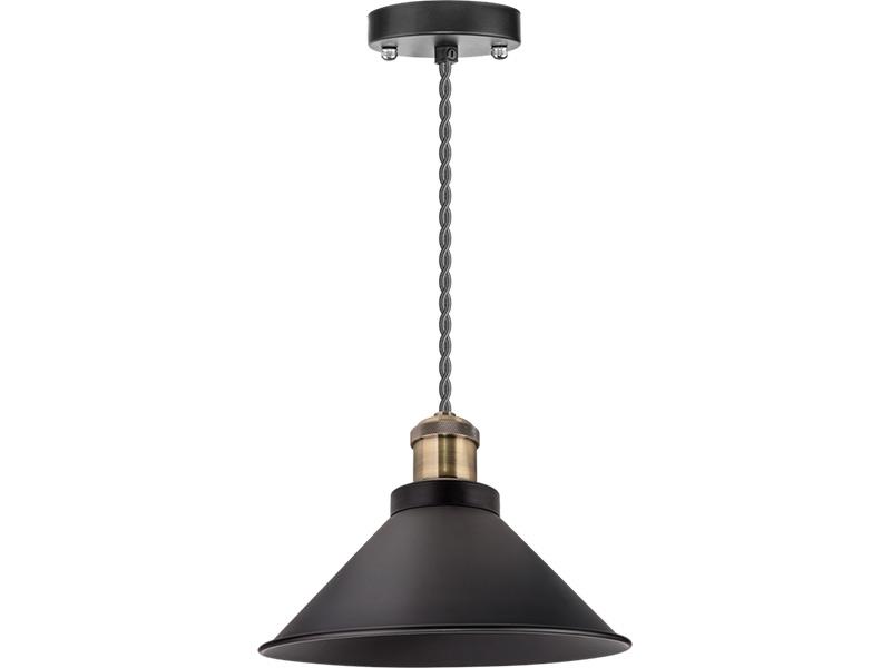 Светильник Navigator NIL-WF02-008-E27 Black-Bronze 61 536