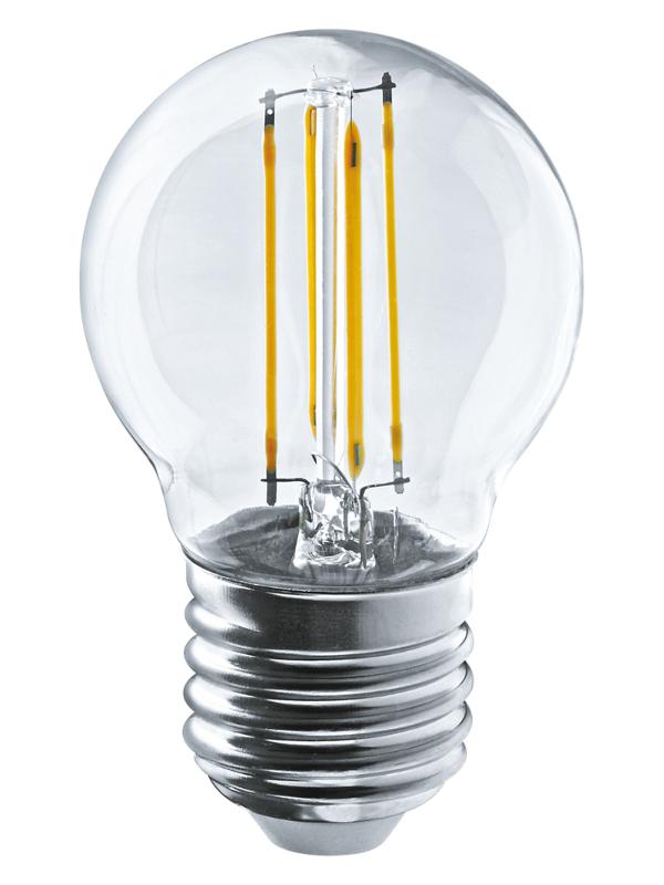 Лампочка Navigator NLL-F-G45-4-230-4K-E27 61 343