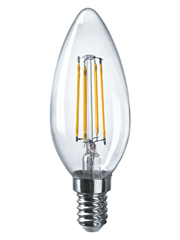 Лампочка Navigator NLL-F-C35-4-230-4K-E14 61 339