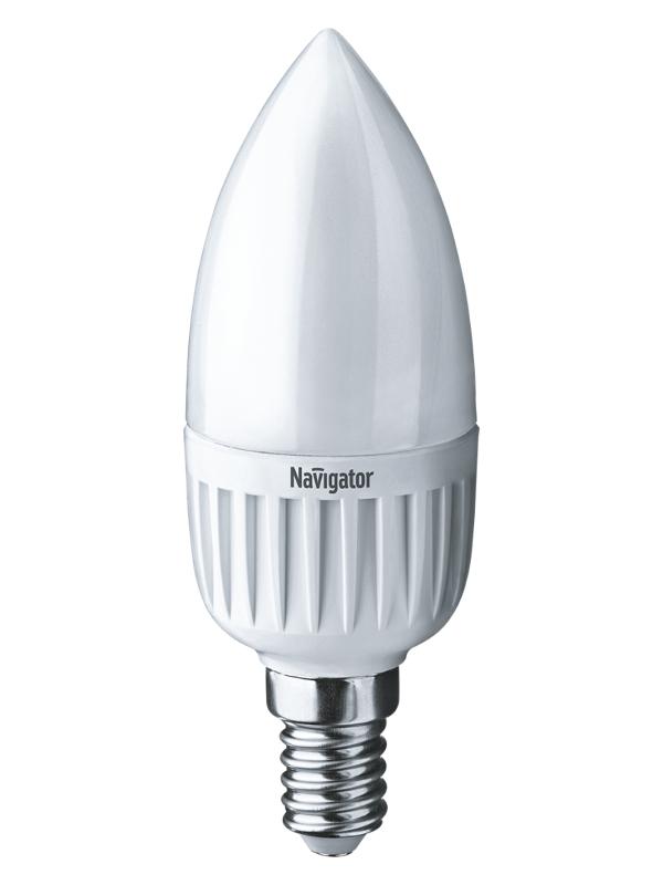 Лампочка Navigator NLL-P-C37-5-230-6.5K-E14-FR 61 249