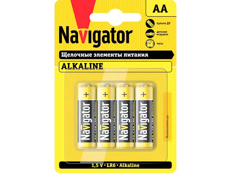 Батарейка AA - Navigator NBT-NPE-LR6-BOX24 (24 штуки) 14 060