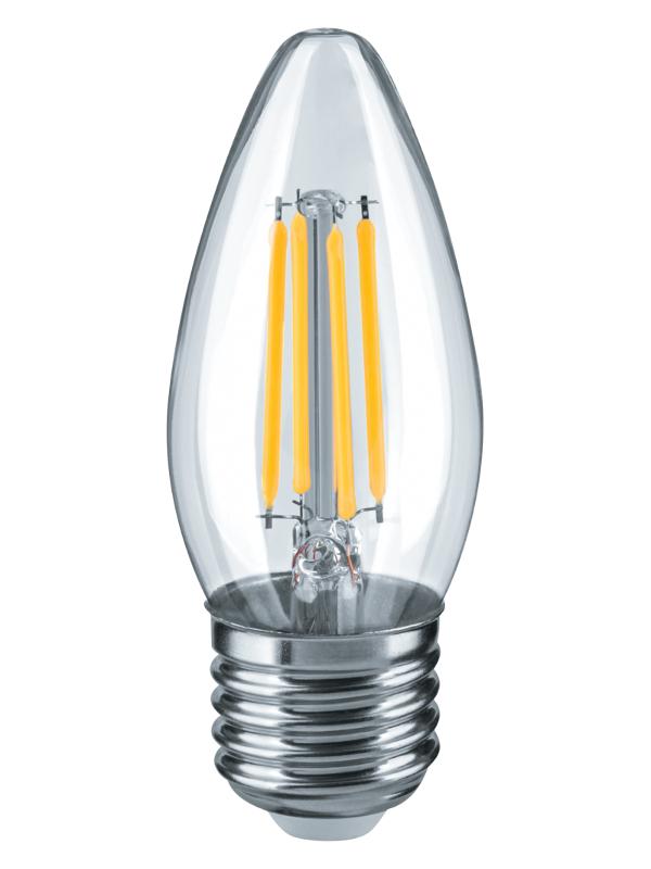 Лампочка Navigator NLL-F-C35-4-230-4K-E27 14 006