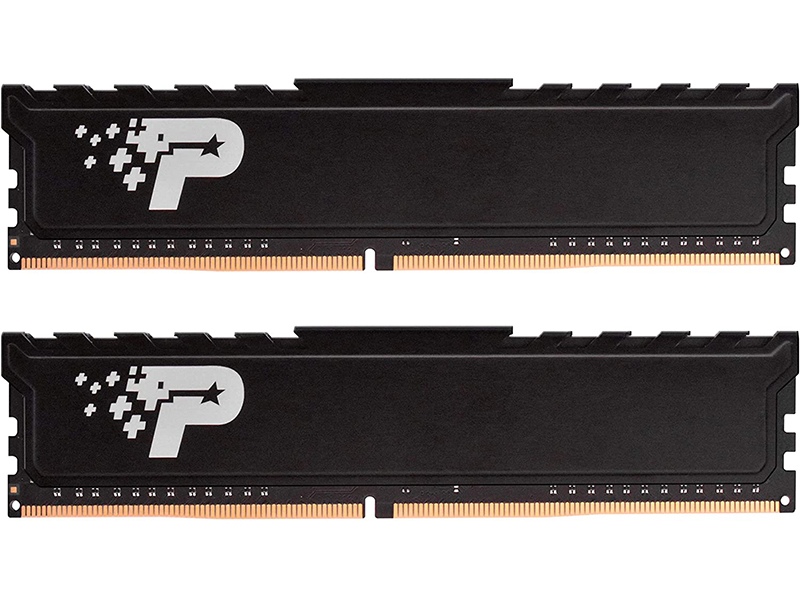 Модуль памяти Patriot Memory Signature Line Premium DDR4 DIMM 2400MHz PC-19200 CL17 - 16Gb KIT (2x8Gb) PSP416G2400KH1