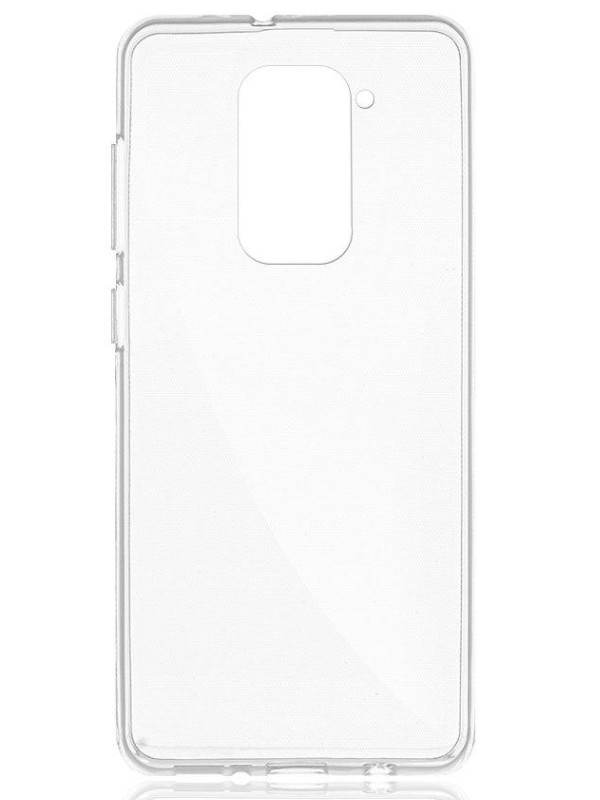 Чехол Brosco для Xiaomi Redmi Note 9 Transparent XM-RN9-TPU-TRANSPARENT