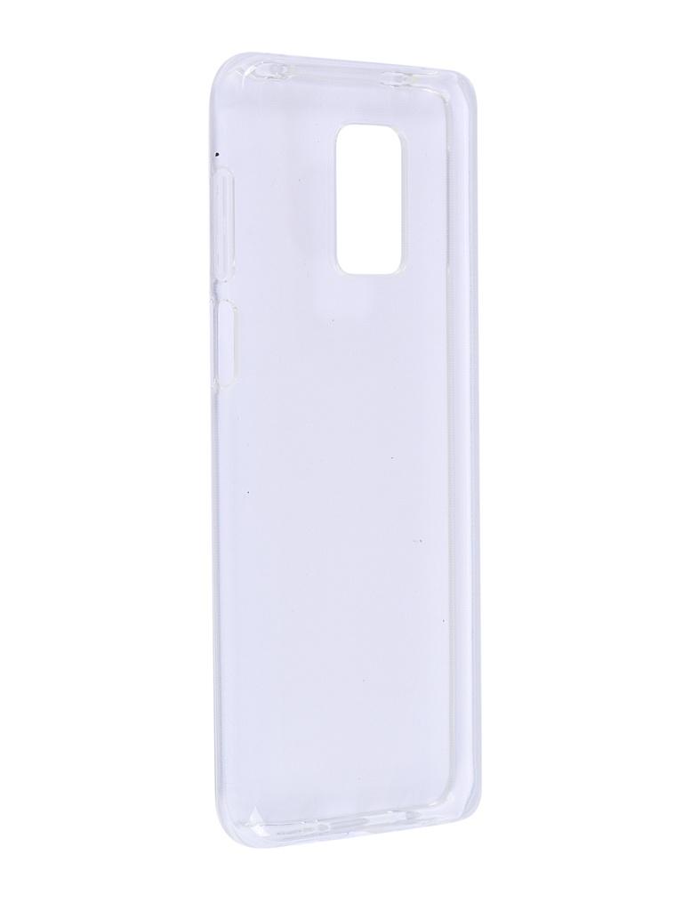 Чехол Brosco для Xiaomi Redmi Note 9S Transparent XM-RN9S-TPU-TRANSPARENT