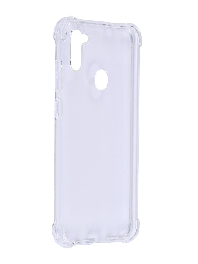 Чехол Brosco для Samsung Galaxy A11 Transparent SS-A11-HARD-TPU-TRANSPARENT