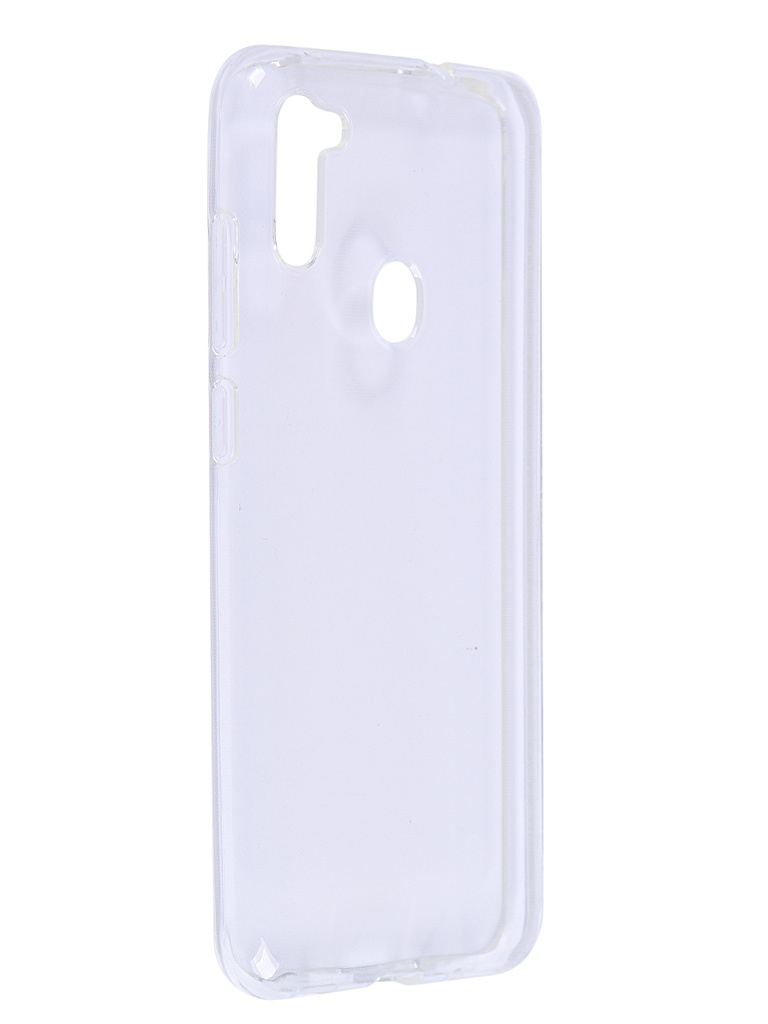 Чехол Brosco для Samsung Galaxy A11 Silicone Transparent SS-A11-TPU-TRANSPARENT