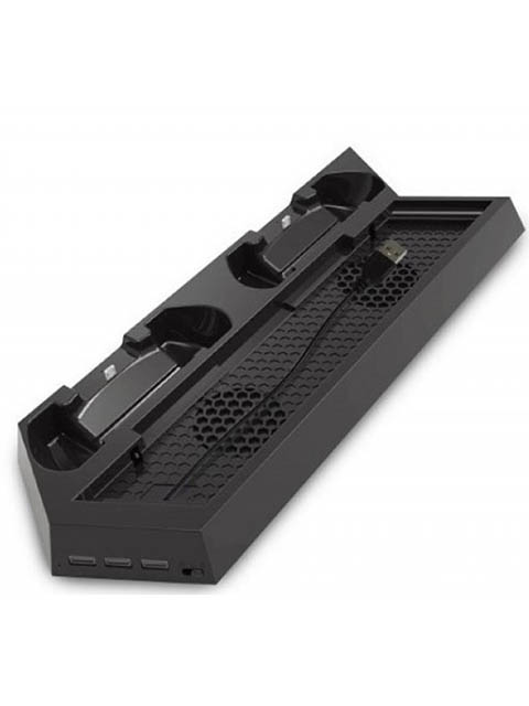 Подставка вертикальная Dobe TP4-023B для PS4 Slim / Pro