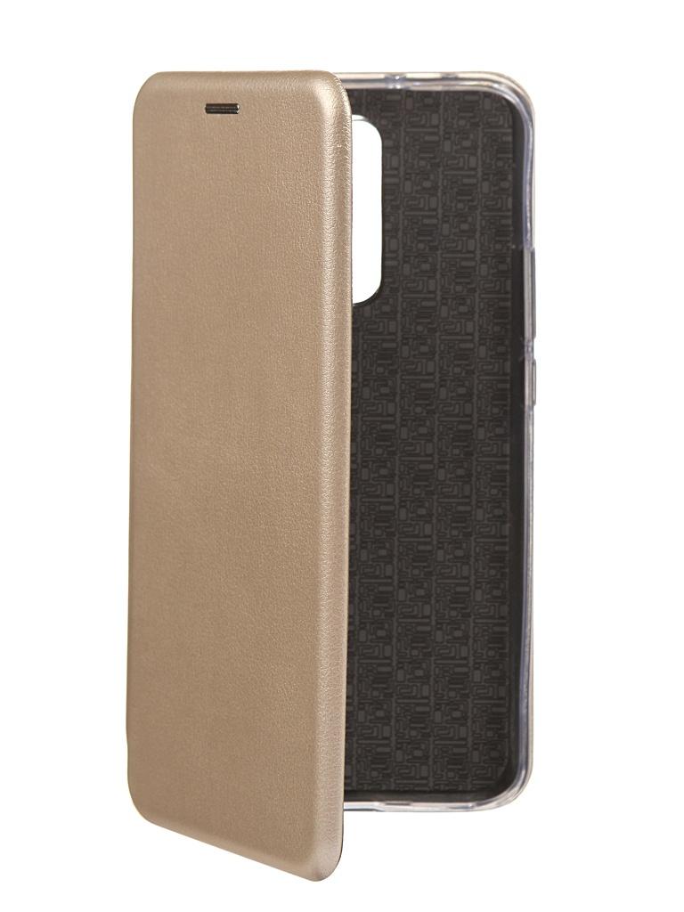 Чехол Innovation для Xiaomi Redmi 9 Silicone Book Gold 17791