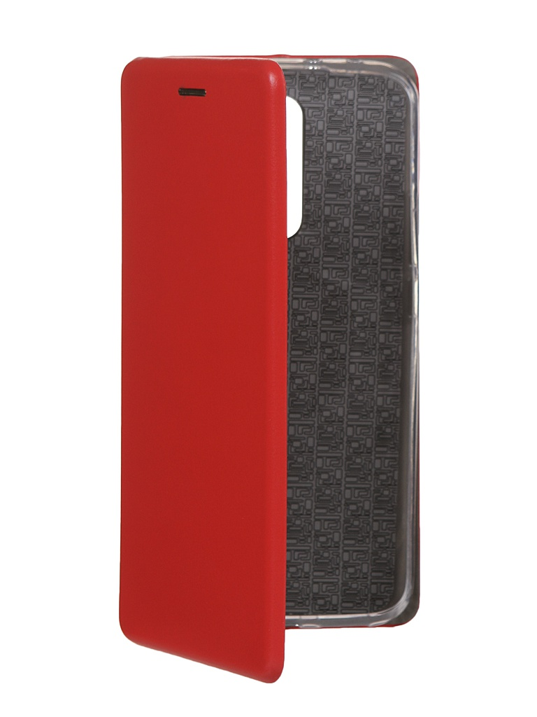 Чехол Innovation для Xiaomi Redmi 9 Silicone Book Red 17792