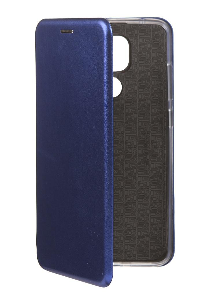 Чехол Innovation для Xiaomi Redmi Note 9 Silicone Book Blue 17800