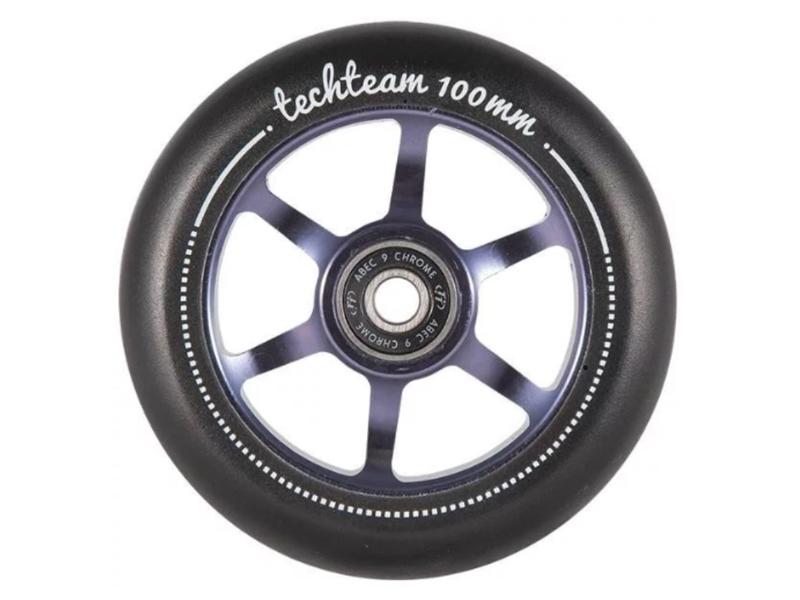 Колесо Tech Team X-Treme 6S 100mm Purple