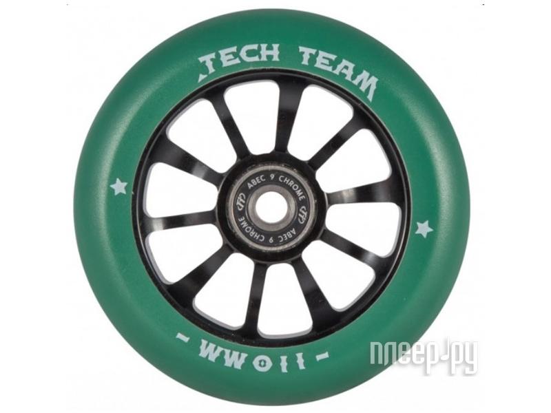 цена на Колесо Tech Team X-Treme Winner 110mm Green