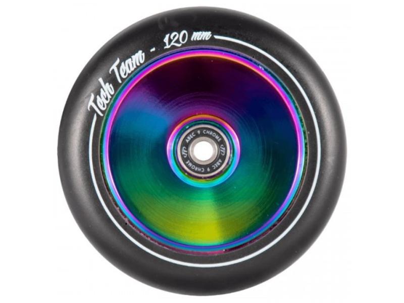 Колесо Tech Team X-Treme Harpy 120mm Hollow Neo Chrome