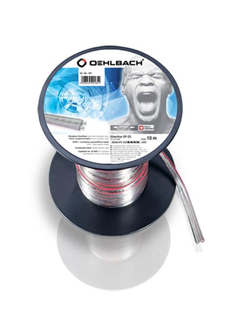 Акустический кабель Oehlbach Silver SP25 2x2.5mm 10m 185