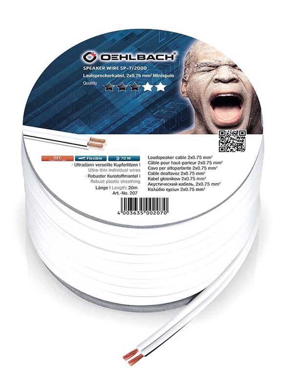Акустический кабель Oehlbach Speaker Wire SP15 2x1.5mm 20m 195