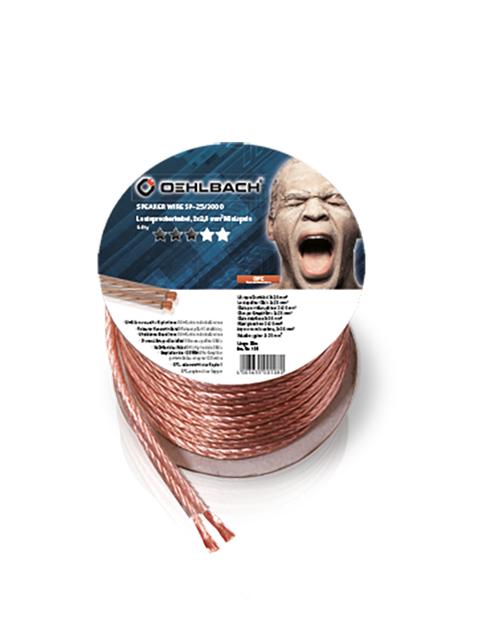 Акустический кабель Oehlbach Speaker Cable 2x2.5mm 30m 108