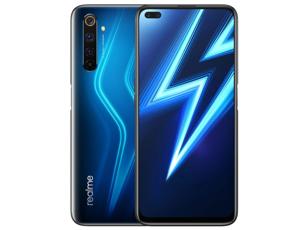 Сотовый телефон Realme 6 Pro 8/128Gb LTE Blue Выгодный набор + серт. 200Р!!! сотовый телефон realme 6 8 128gb lte blue