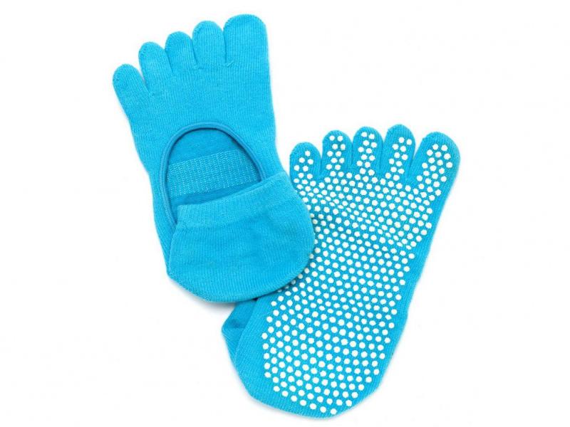 Носки противоскользящие для занятий йогой Bradex SF 0209