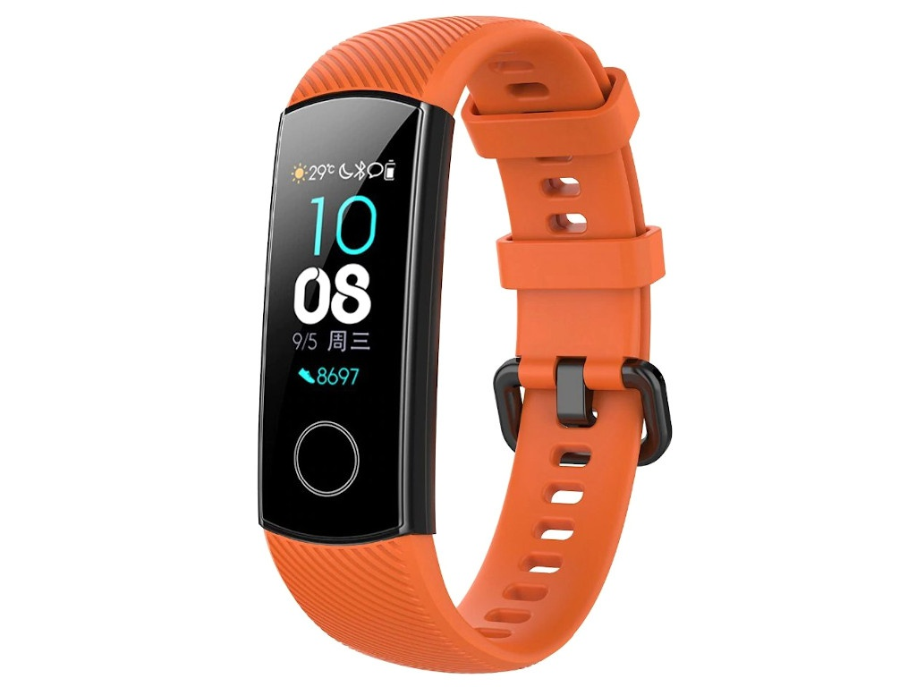 Aксессуар Ремешок Activ для Huawei HonorBand 4/5 Orange 110672