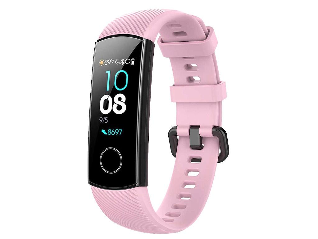 Aксессуар Ремешок Activ для Huawei HonorBand 4/5 Pink 110673