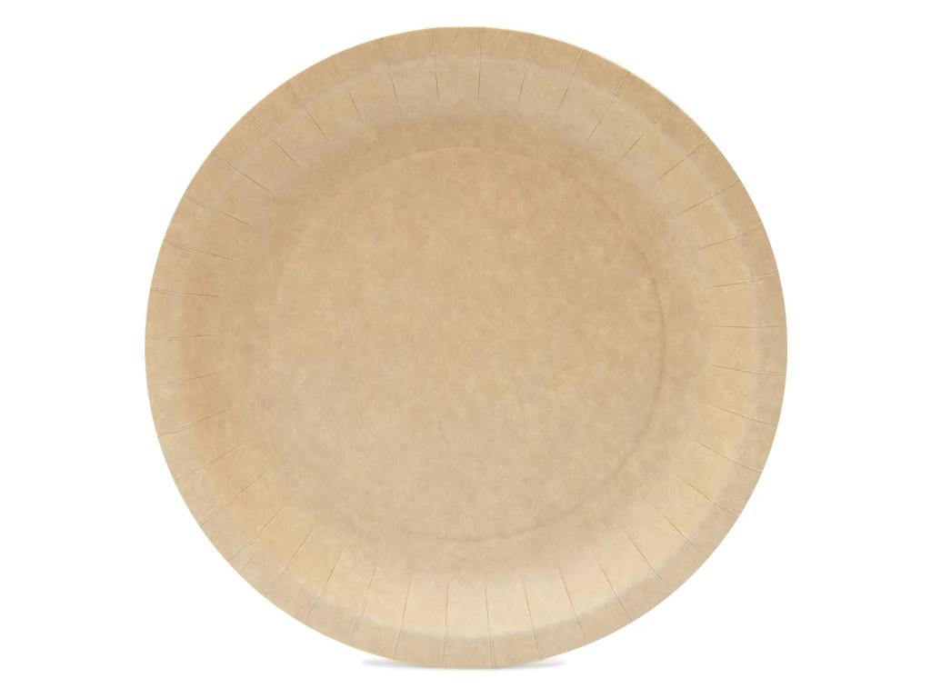 Одноразовая тарелка Непластик 230mm 411-020