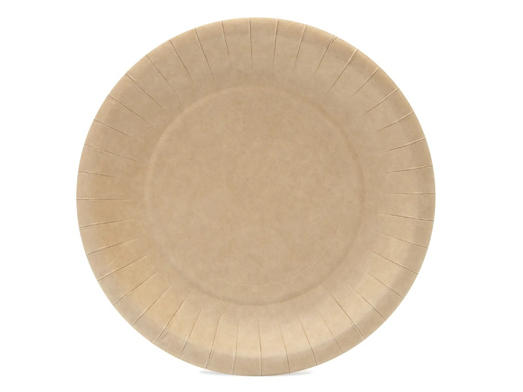 Одноразовая тарелка Непластик 180mm 411-019