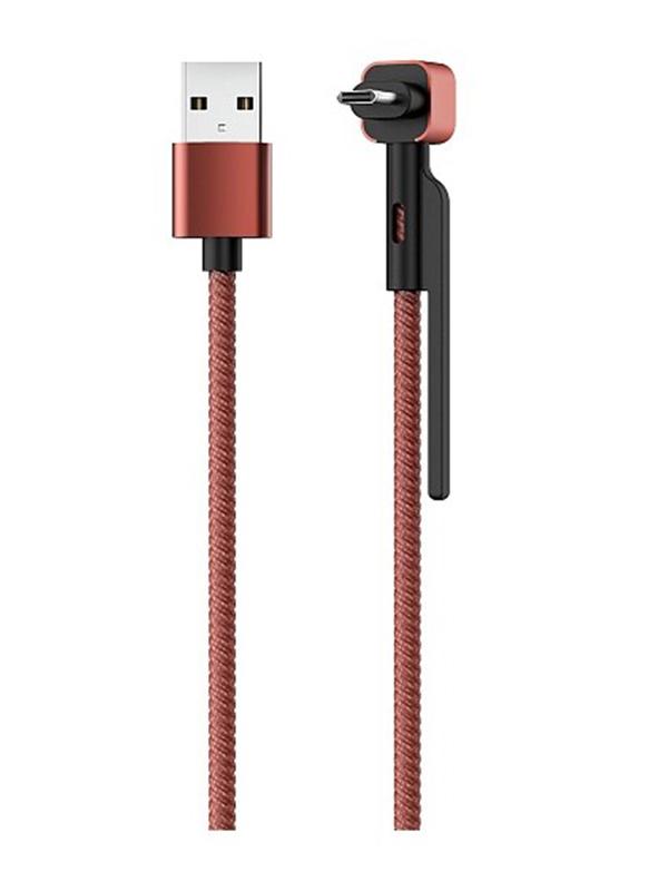 Аксессуар Olmio Stand USB 2.0 - MicroUSB 1.2m 39504