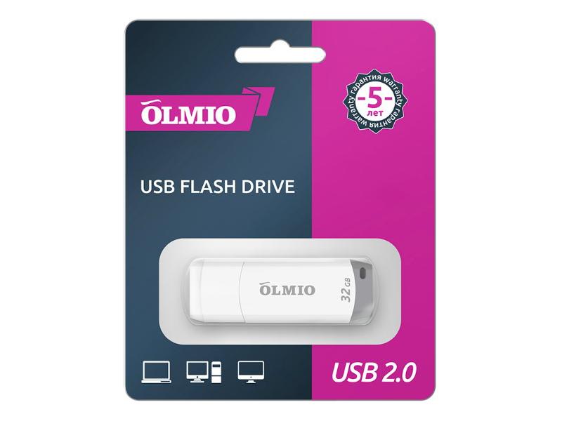 Фото - USB Flash Drive 32Gb - Olmio U-181 42091 usb flash drive 32gb olmio u 181 42091