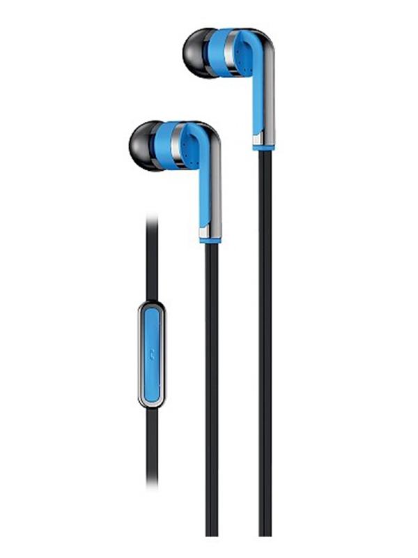 Наушники Olmio Calypso 3.5mm Light Blue 39042