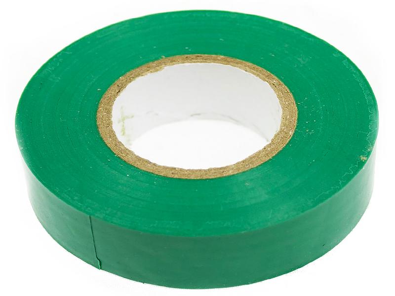 Изолента ОнЛайт OIT-B15-20/G 15mm x 20m Green 71 680