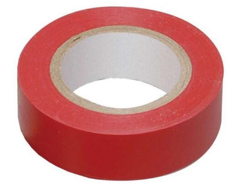 Изолента ОнЛайт OIT-B15-20/R 15mm х 20m Red 71 678