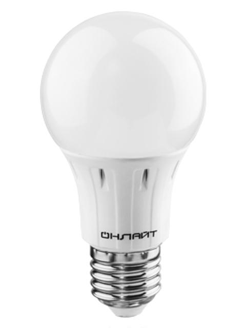 Лампочка ОнЛайт OLL-A60-10-230-6.5K-E27 61 140