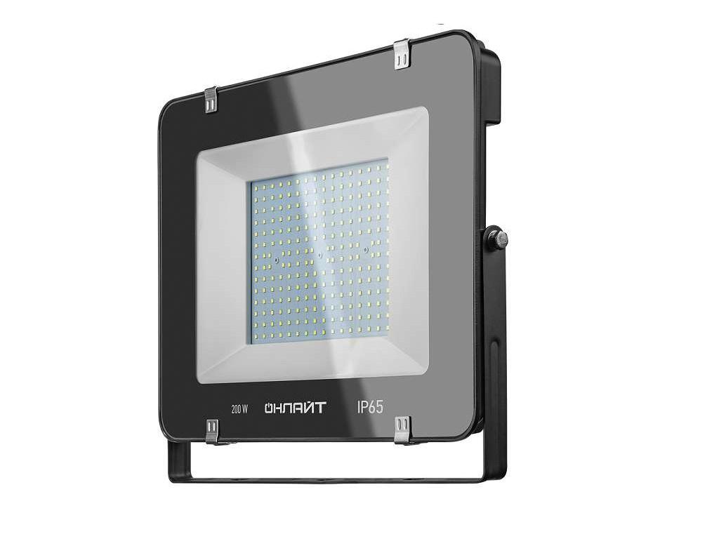 Прожектор ОнЛайт OFL-200-6.5K-BL-IP65-LED 14 345